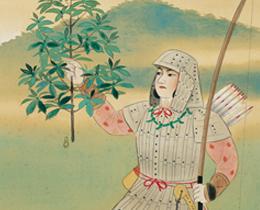 橿原の図(若き武人)堂本印象 作