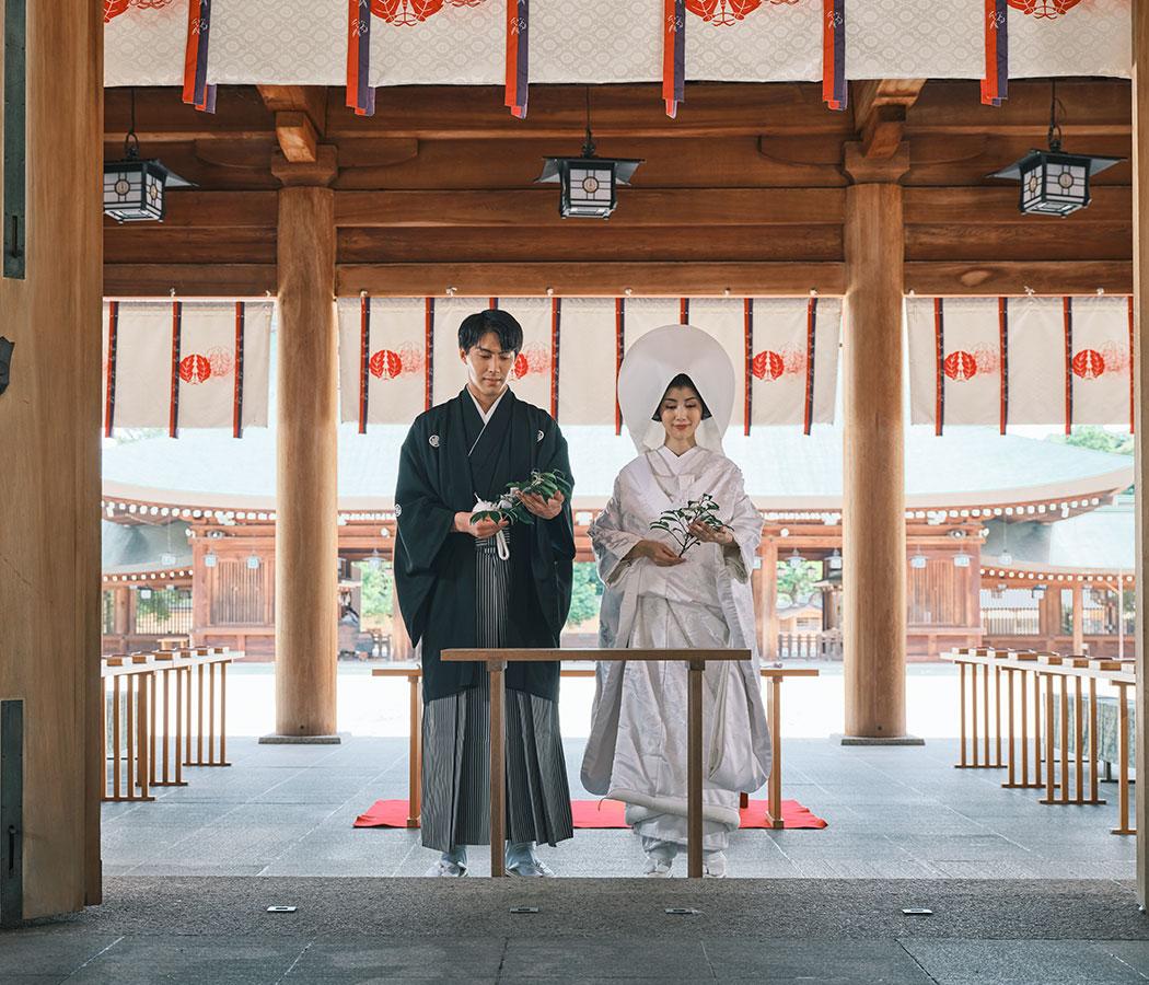 橿原神宮 結婚式