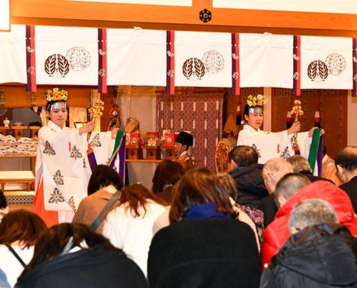 新春初神楽祈祷
