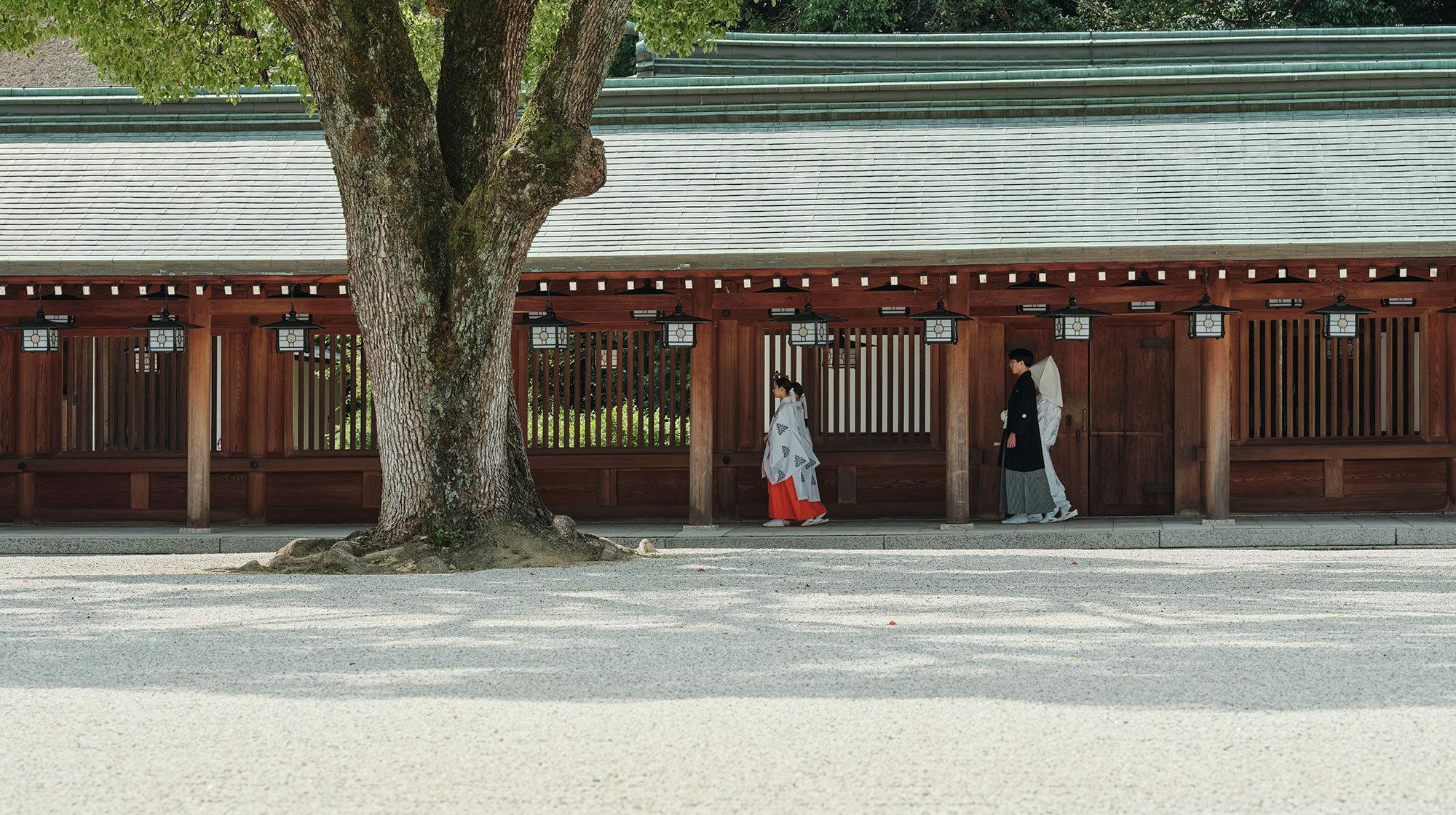 橿原神宮 結婚式 儀式殿